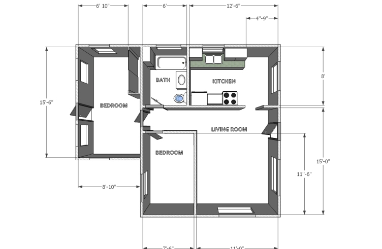 BackHouse-Layout