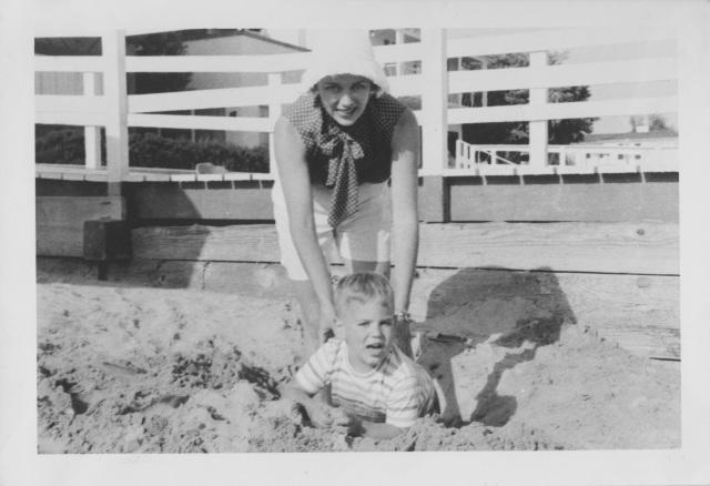 mom beach 1